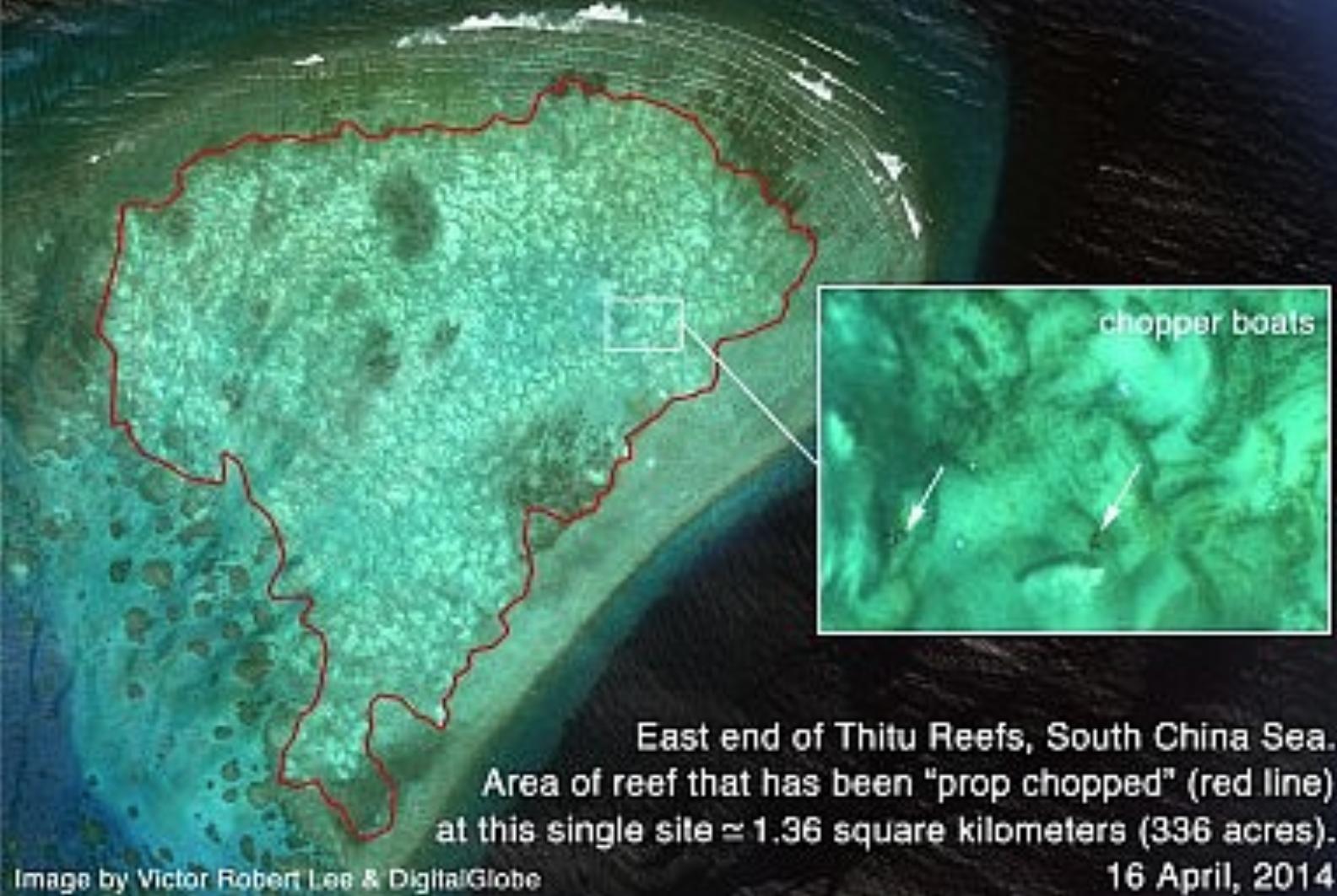 Trung Cộng đề nghị xây 'công viên nước' trong vùng Biển Đông tranh chấp