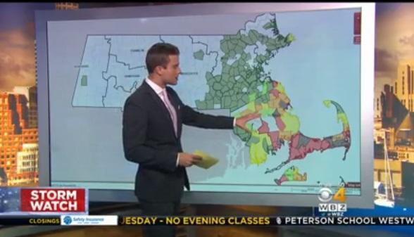 Cơn bão mùa đông thứ ba tấn công vào khu vực Đông Bắc Hoa Kỳ