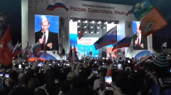 Putin đến Crimea vận động tranh cử