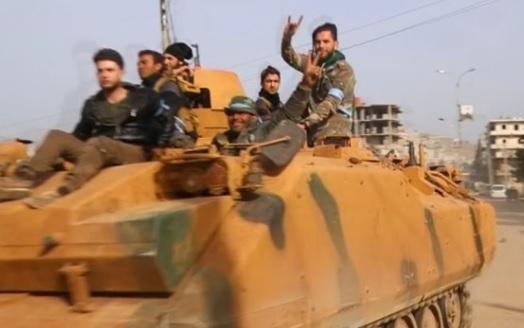 Lực lượng Thổ Nhĩ Kỳ và quân du kích Syria chiếm trung tâm Afrin từ người Kurd