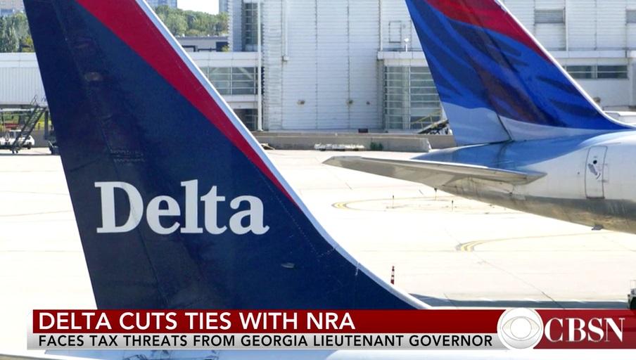 Quốc hội Georgia xóa bỏ giảm thuế Delta Airlines vì cắt quan hệ với NRA