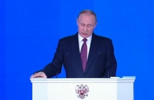 Putin công bố nhiều vũ khí hạt nhân mới cảnh cáo Mỹ