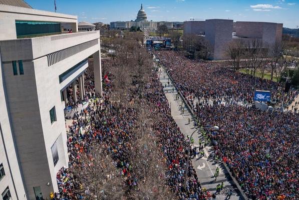 Tổng thống Trump chưa bình luận gì trước cuộc tuần hành March For Our Lives