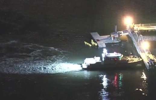 Trực thăng rơi xuống sông East ở New York, 5 người thiệt mạng