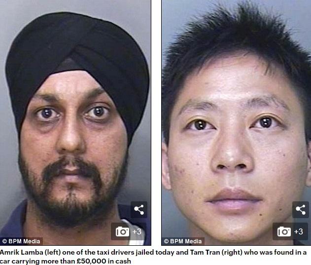 Ba tài xế taxi Anh bị bắt vì vận chuyển cần sa cho người Việt Nam