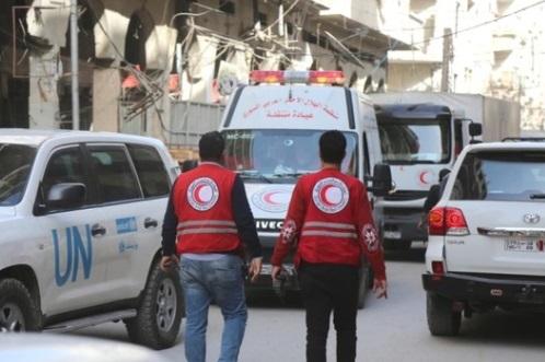 Syria cho phép đoàn cứu trợ đến Ghouta, nhưng chận 70% thiết bị y tế