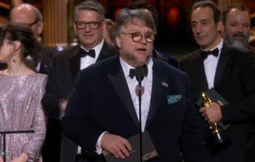 """""""Shape Of Water"""" đoạt Giải Oscar 2018 """"Phim Hay Nhất"""""""