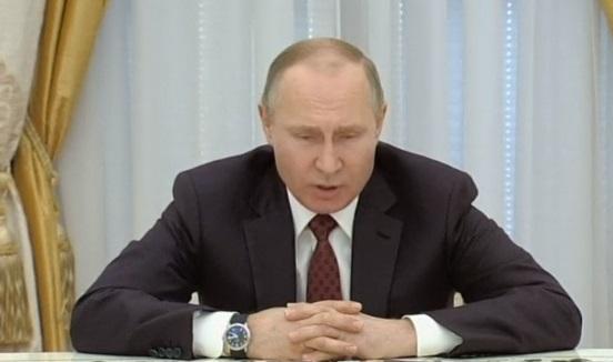 Tổng thống putin tuyên bố Nga không muốn chạy đua vũ trang