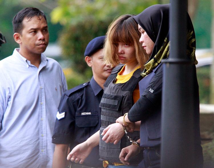 Nhân viên điều tra Mã Lai buộc tội Đoàn Thị Hương mưu sát ông Kim Jong Nam