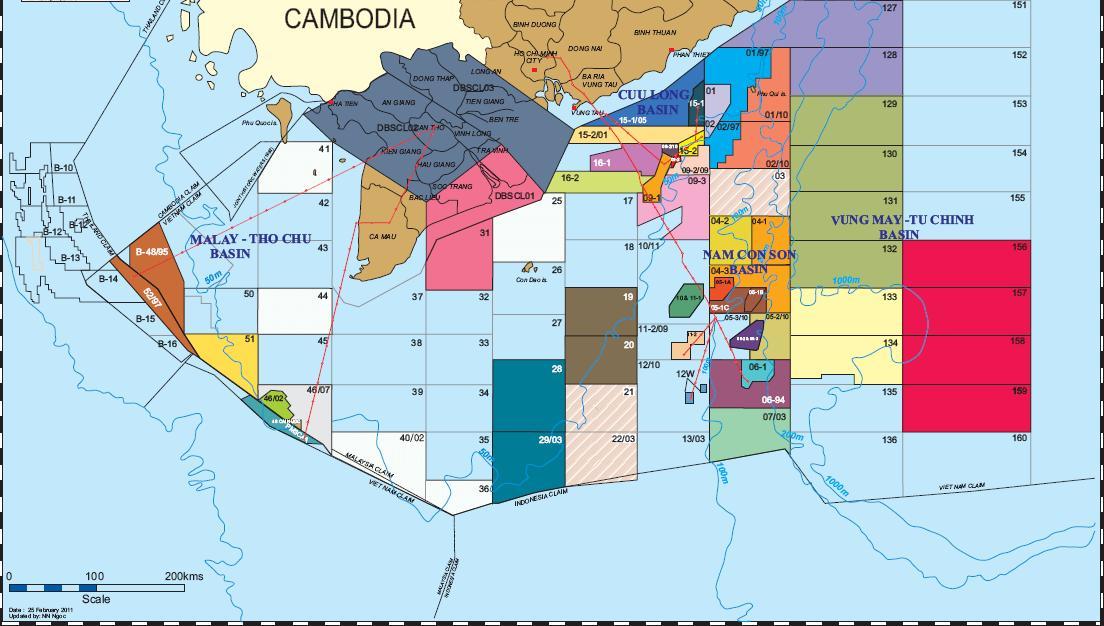 Petrovietnam: căng thẳng trên Biển Đông phương hại đầu tư