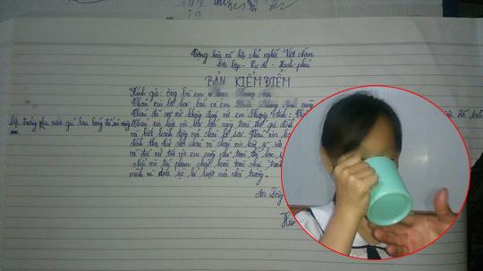 Bắt học sinh súc miệng bằng nước giặt giẻ lau bảng, cô giáo Hải Phòng mất việc