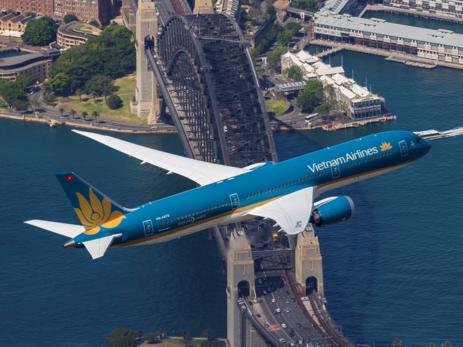 Vietnam Airlines đổi hướng bay tới Châu Âu để tránh xa Syria