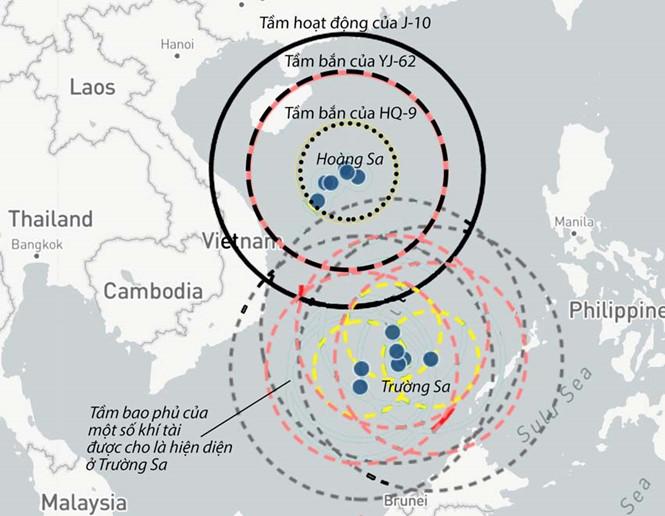 Đô Đốc Mỹ: Trung Cộng kiểm soát trọn Biển Đông, chỉ ngăn được bằng chiến tranh