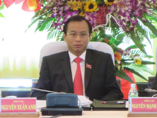 Cựu bí thư Đà Nẵng Nguyễn Xuân Anh tạm nghỉ sinh hoạt đảng