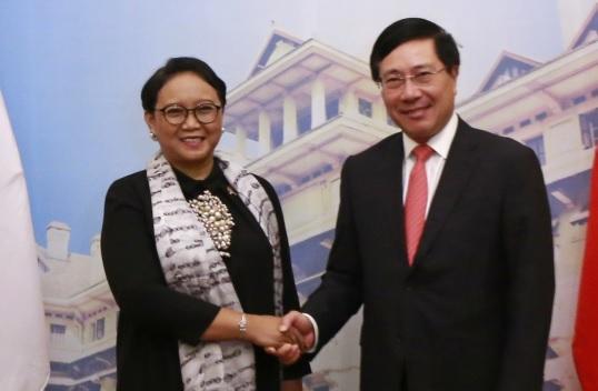Việt Nam và Indonesia cam kết giải quyết vi phạm trong ngư nghiệp tại Biển Đông