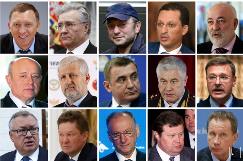 Moscow sẽ trả đũa vụ Mỹ trừng phạt mới đối với quan chức và thương gia Nga