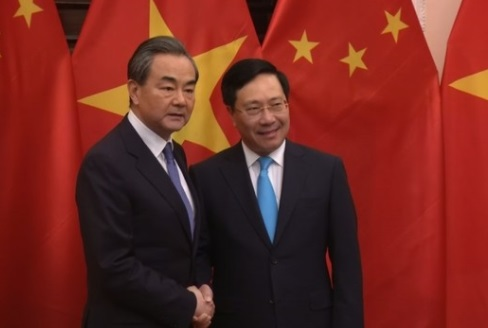 Ngoại trưởng Trung Cộng nói Việt Nam nên giải quyết bất đồng qua đối thoại