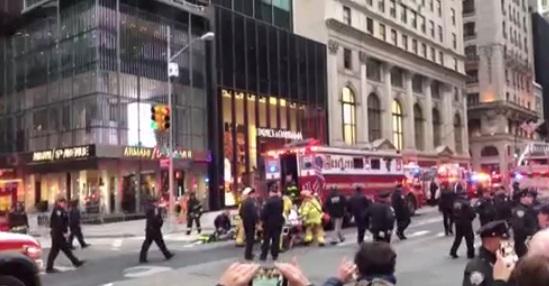 Cháy Trump Tower, 1 người bị thiệt mạng, 6 nhân viên cứu hỏa bị thương