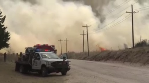Cháy rừng thiêu rụi 200,000 mẫu tại Oklahoma, ít nhất 1 người chết