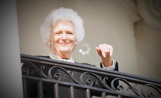 Sức khỏe cựu đệ nhất phu nhận Barbara Bush rất kém, nhưng không tìm cách điều trị thêm