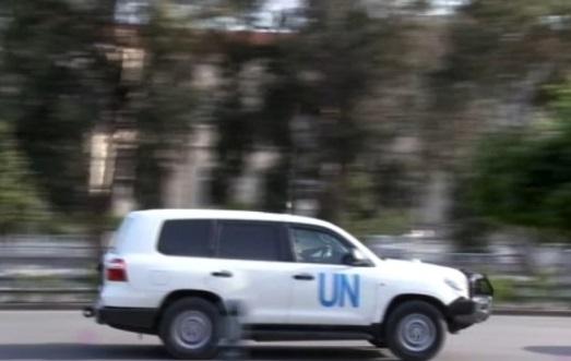 Chuyên gia vũ khí hóa học đến thị trấn Douma Syria
