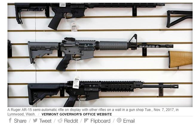Thống đốc Cộng Hòa Phil Scott của Vermont ký dự luật kiểm soát súng thành luật