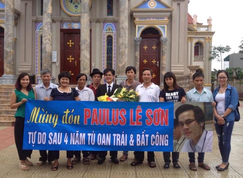 Cựu tù nhân lương tâm Paulus Lê Văn Sơn bị công an Thanh Hóa phát lệnh truy nã