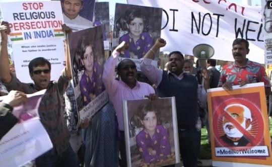 Thủ tướng Ấn Độ bị biểu tình phản đối tại London