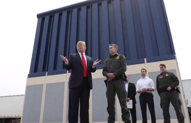 Không có bức tường, tổng thống Trump sẽ điều động vệ binh quốc gia bảo vệ biên giới
