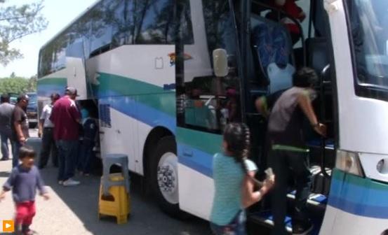Đoàn di dân Trung Mỹ coi như đã giải tán tại New Mexico