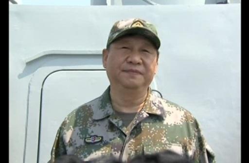 Tập Cận Bình: xây dựng lực lượng hải quân mạnh để chiến đấu hữu hiệu