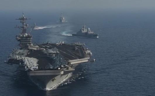 Không quân Hoa Kỳ huấn luyện quân sự sát Biển Đông