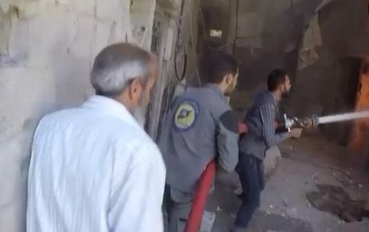 Quốc tế tố cáo chế độ Assad dùng vũ khí hoá học ở Douma làm 70 người chết