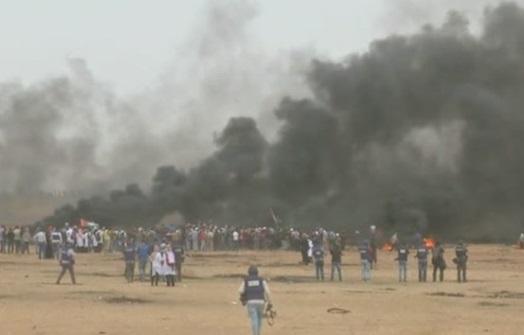 Binh sĩ Israel bắn chết 4 người Palestine trong cuộc biểu tình ở biên giới