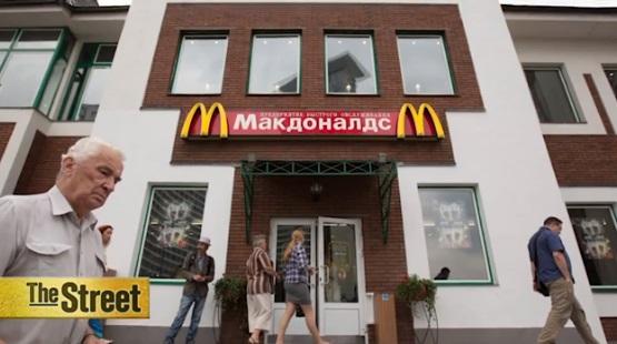 McDonald's ở Nga thay thế nguyên liệu nhập cảng bằng nguyên liệu địa phương