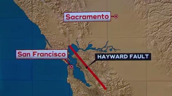 Cảnh báo vết nứt Hayward sẽ là thiên tai giết chết người nhiều nhất trong lịch sử Hoa Kỳ