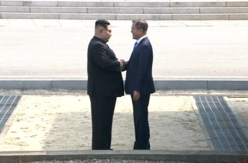 Tổng thống Nam Hàn long trọng đón tiếp lãnh tụ Bắc Hàn trong cuộc gặp lịch sử