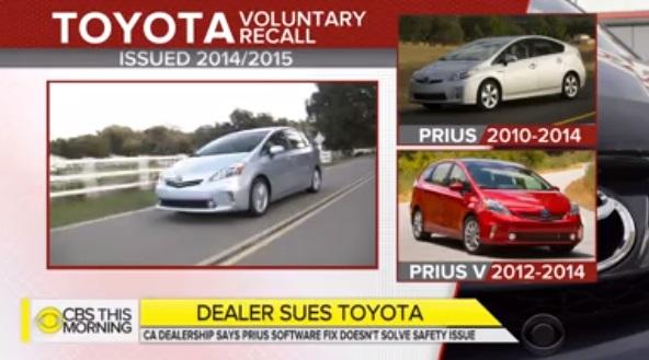 Một đại lý xe Toyota ở California không bán xe Priuses vì lý do an toàn