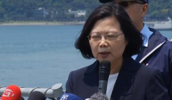 Tổng thống Đài Loan thị sát tập trận