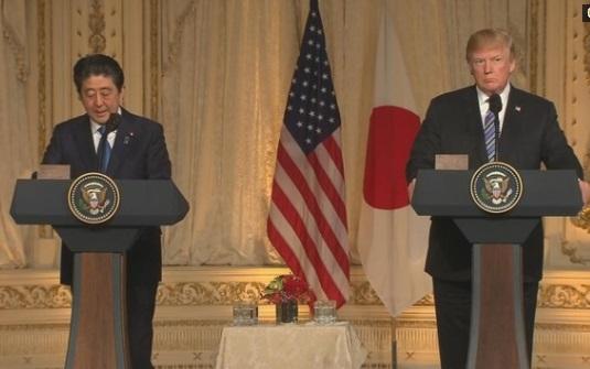 Tổng thống Trump hy vọng sẽ giảm thâm hụt thương mại với Nhật Bản