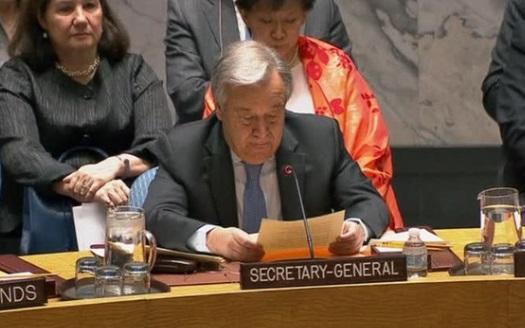Hoa Kỳ và Nga đụng độ trong cuộc họp khẩn Hội Đồng Bảo An Liên Hiệp Quốc về  Syria