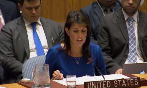 Đại sứ Hoa Kỳ tại Liên Hiệp Quốc cảnh báo tiếp tục không kích nếu Syria tiếp tục sử dụng khí độc