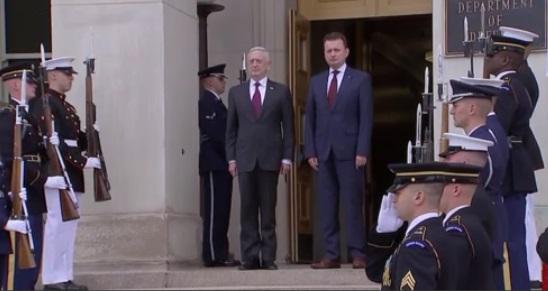 Ông Mattis tái khẳng định cam kết bảo vệ Nam Hàn của Hoa Kỳ