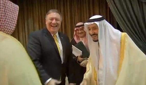 Ngoại trưởng Hoa Kỳ gặp quốc vương Saudi Arabia và thủ tướng Israel về biện pháp cấm vận Iran