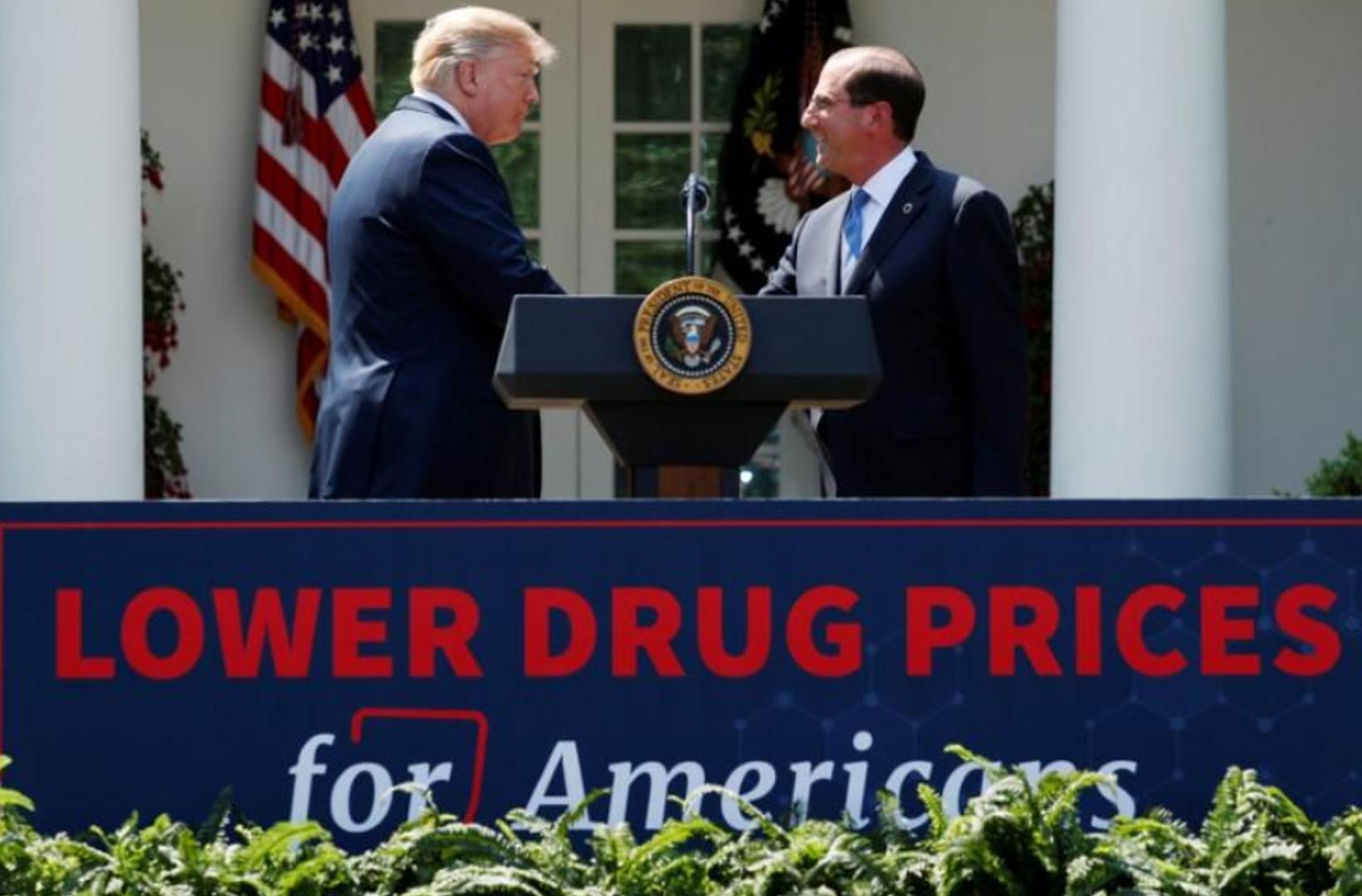 Tổng thống Trump công bố kế hoạch mới nhằm giảm giá thuốc