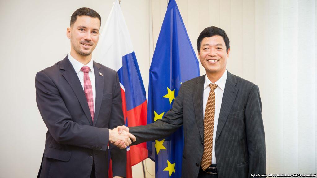 Slovakia nhận được hồi đáp từ đại sứ CSVN về vụ bắt cóc Trịnh Xuân Thanh