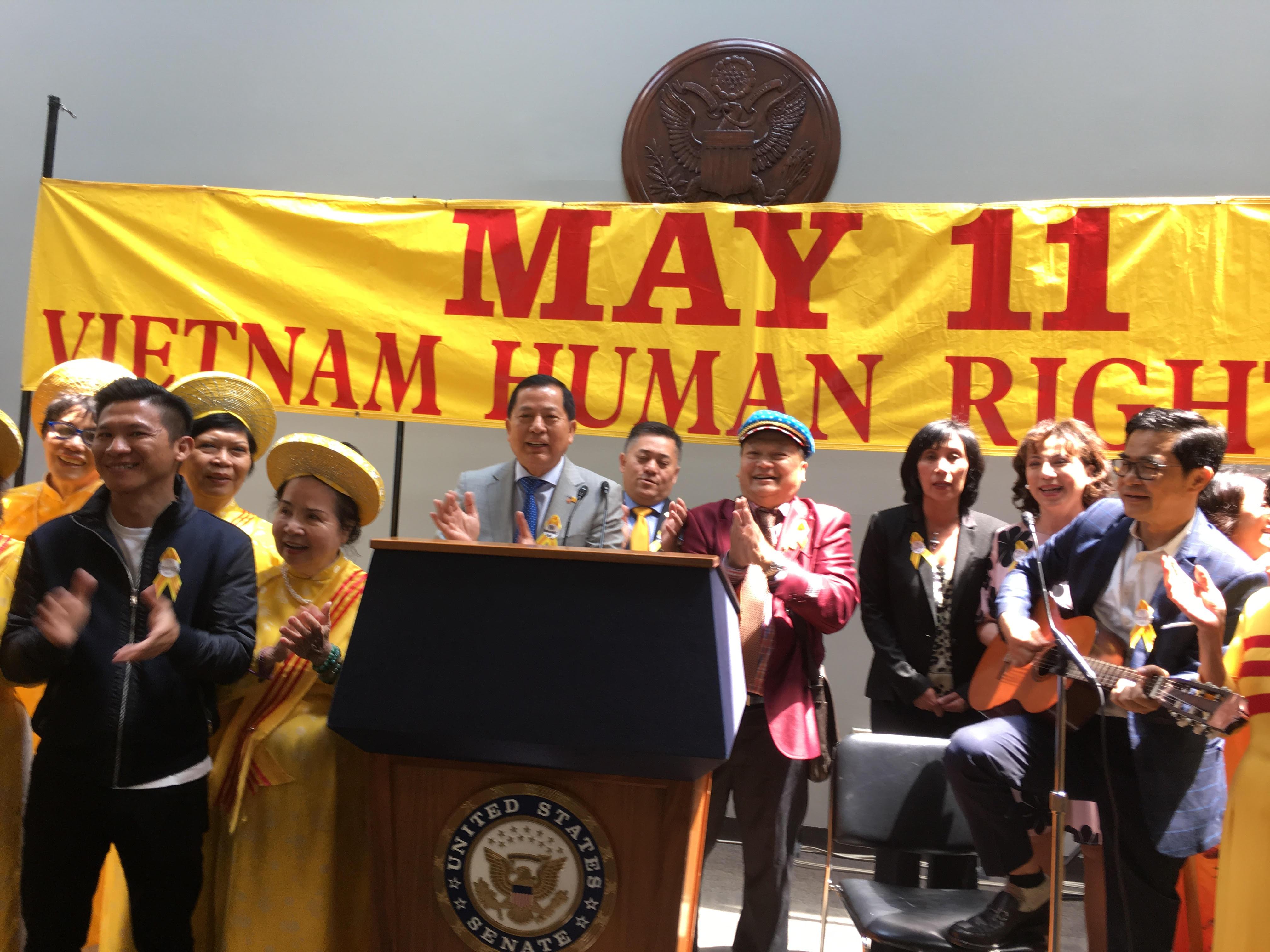 Tổ chức trọng thể Ngày Nhân Quyền Việt Nam lần thứ 24 tại thủ đô Washington