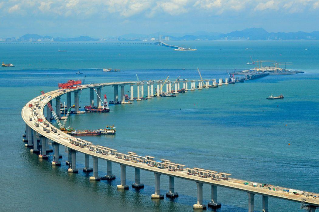 Trung Cộng xây cầu dài nhất thế giới nối Hoa Lục, Hong Kong, Macau