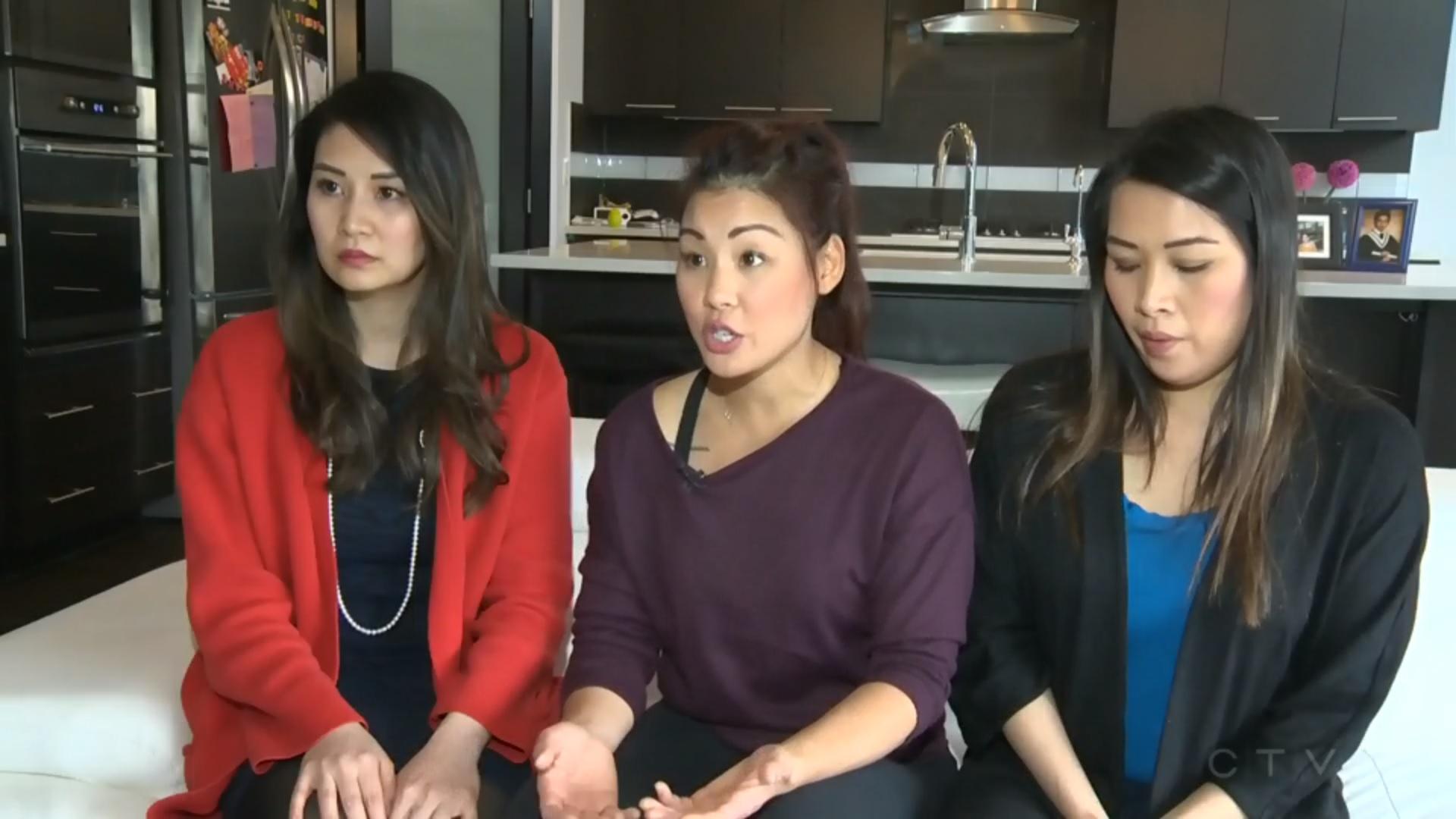 Ba người chị gốc Việt ở Canada giúp em trai bị ung thư bạch huyết tìm người tặng tế bào gốc