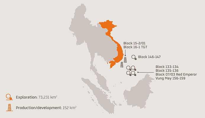 Repsol yêu cầu Việt Nam bồi thường dự án đình chỉ trên Biển Đông